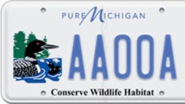 Michigan elking out new wildlife plates