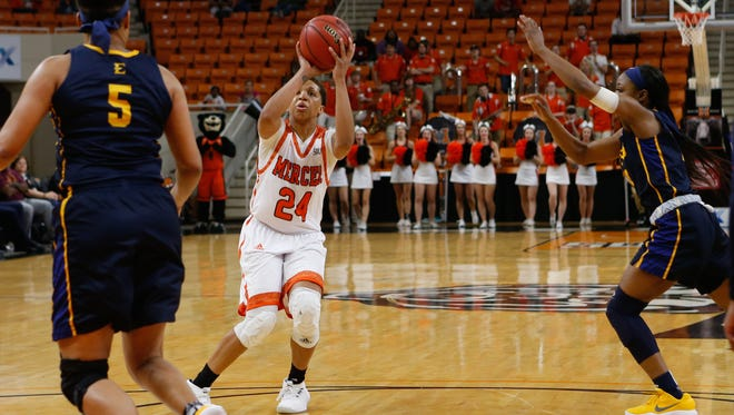 Mercer's Kahlia Lawrence (24)