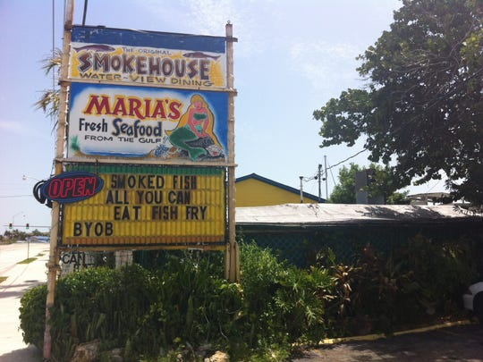 Maria's Smokehouse was built as a beach-shack home in the 1940s.