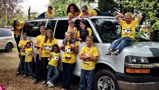 The 14-child Ness clan of Hebron, Md.