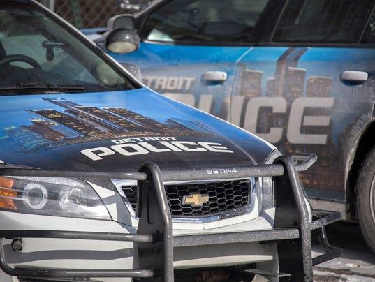 Free Press stock Detroit Police generic