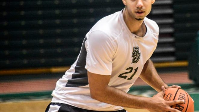 Binghamton University forward Nick Madray averaged 10.8 points per game and made 38 percent of his 3-pointers as a freshman.