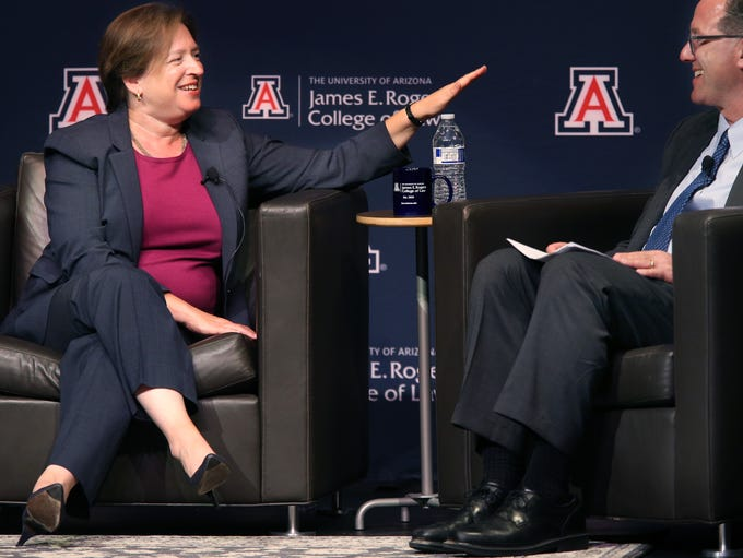 Supreme Court Justice Elena Kagan talks about the lack