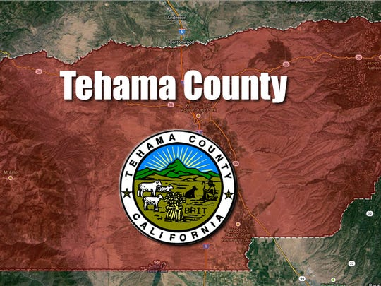 Tehama County map