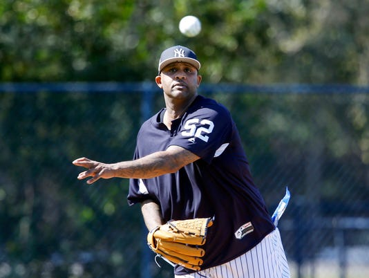 MLB: New York Yankees-Workouts