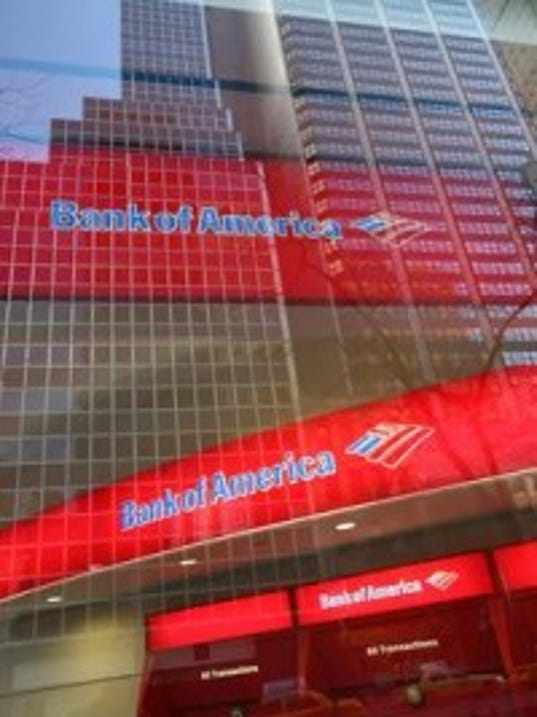 AP file photo: Bank of America is everywhere.