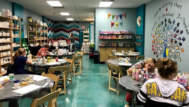 Cone 06 Pottery Painting Studio is located at 3369 Pine Ridge Road, Suite 103, Naples, FL, 34109.