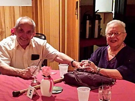 Anniversaries: Charles Weber & Viola Weber