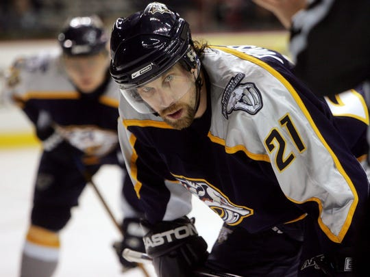 Peter Forsberg had 15 points in 17 games for the Predators