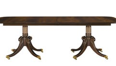 Hickory Chair, which sells this mahogany table, reportedly