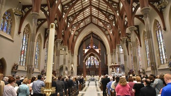 Re-Dedication of the St. John's Cathedral after 6 years being closed for renovations.