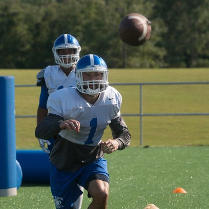 University of West Florida wide receiver, Anas Hasic