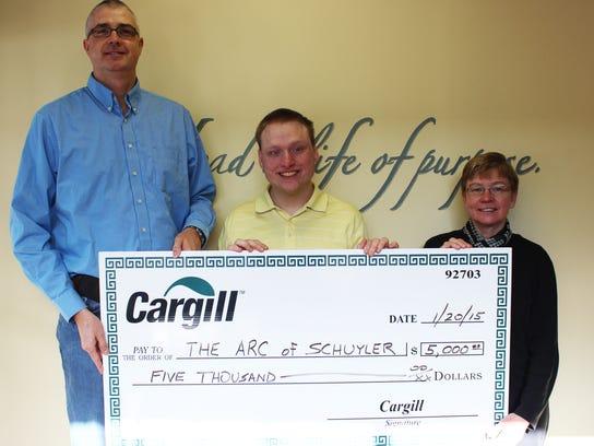 The Arc of Schuyler in Watkins Glen received a $5,000