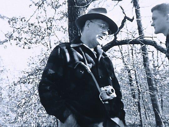 Hugo Herschend, the Danish immigrant who moved from Chicago to southern Missouri in order to buy Marvel Cave and start Silver Dollar City in 1960, is shown in an undated photo.