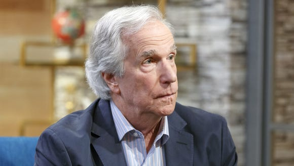 "Actor Henry Winkler visits ""The IMDb Show"" on May 31,"