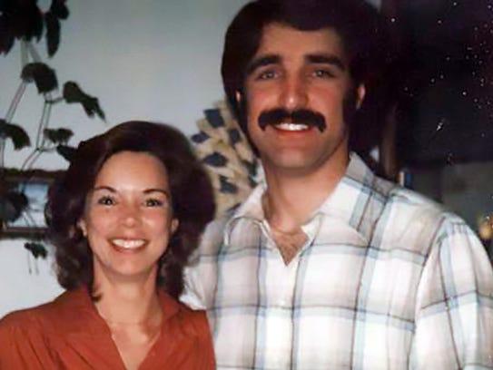 Cheri Domingo, left, and her boyfriend, Greg Sanchez,were