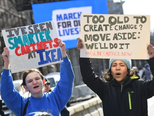 Image result for the march for our lives signs
