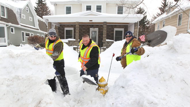 What started as a Facebook conversation on snowed-in fire hydrants morphed into an action plan to shovel out hydrants throughout Webster.