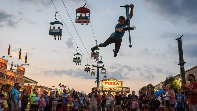 The Ohio State fair will be July 26-Aug. 1 at The Ohio Expo Center & State Fair in Columbus.