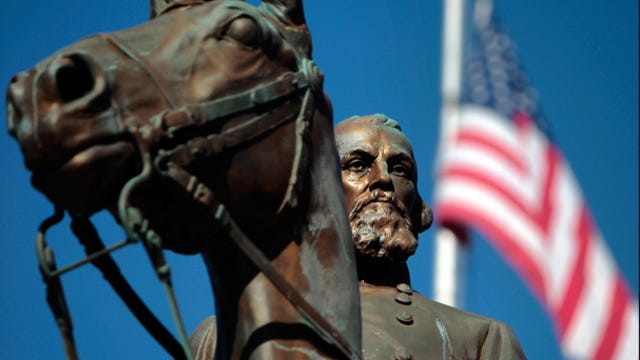 Some City Council members think that the symbol of Nathan Bedford Forrest, a Civil War General and founder of the Ku Klux Klan, is an embarrassment to the city and are trying to get Forrest Park renamed.