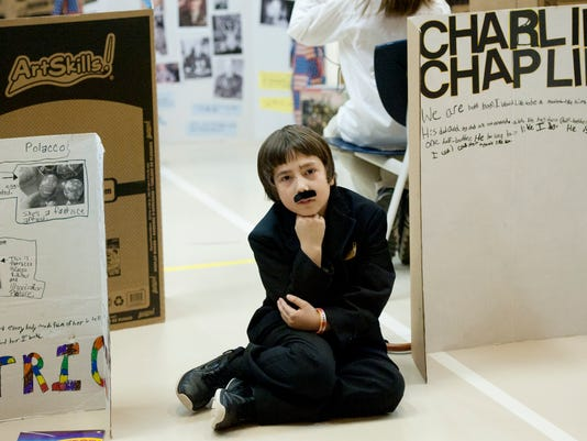 Wax Museum at Concord Elementary
