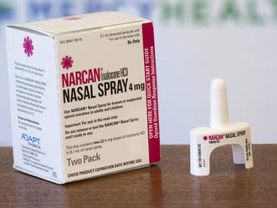 Narcan is the opiate-overdose reversal drug used to save lives.