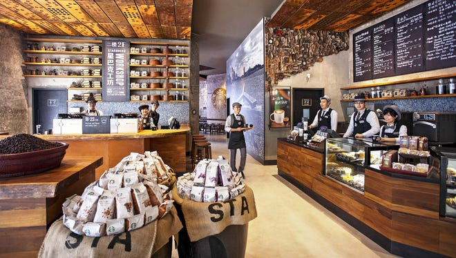 Starbucks is opening two flagship stores in China, featuring new, bold design concepts to delight customers with an elevated Starbucks experience.