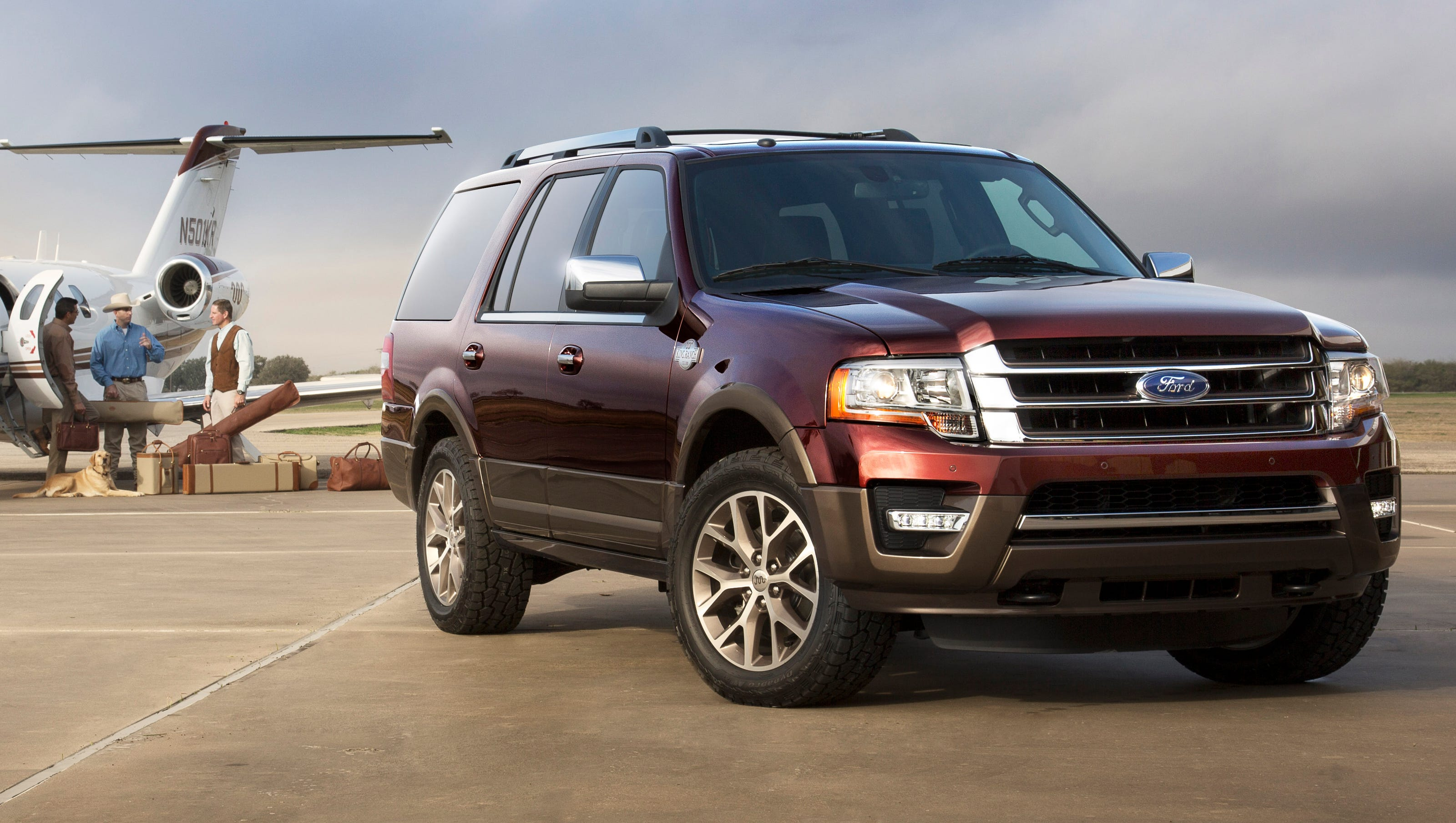 Auto review 2015 Ford Expedition hauls the whole ranch