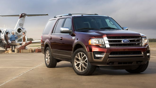The far-from-all-new 2015 Ford Expedition King Ranch models celebrates a 15-year association with the iconic Texas ranch.