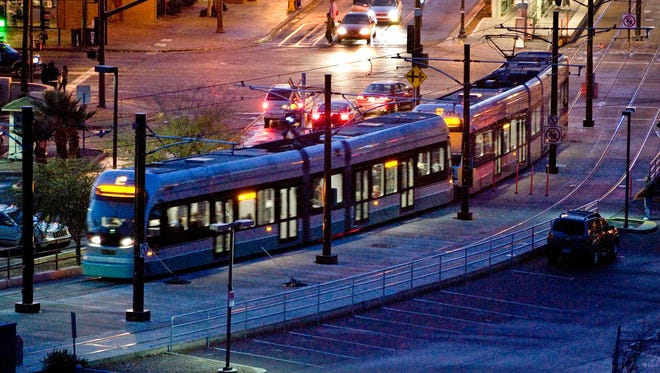 Mesa letter writer Jeff Lewis points out that if you banter too long on the light rail, you might lose your seat.