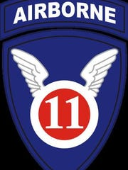 The 11th Airborne Division's patch during WWII