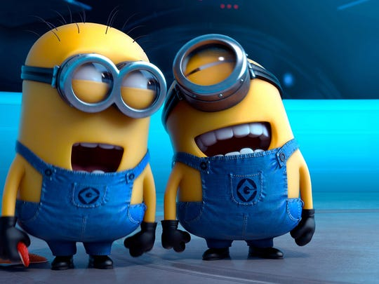 The unpredictably hilarious Minions are back in their own movie starting Feb. 6.
