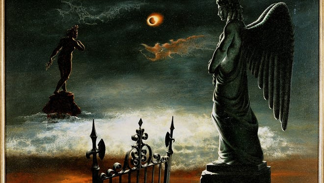"""""""Eclipse"""" by Charles Rain is shown in the Knoxville Museum of Art's """"Higher Ground"""" exhibit."""