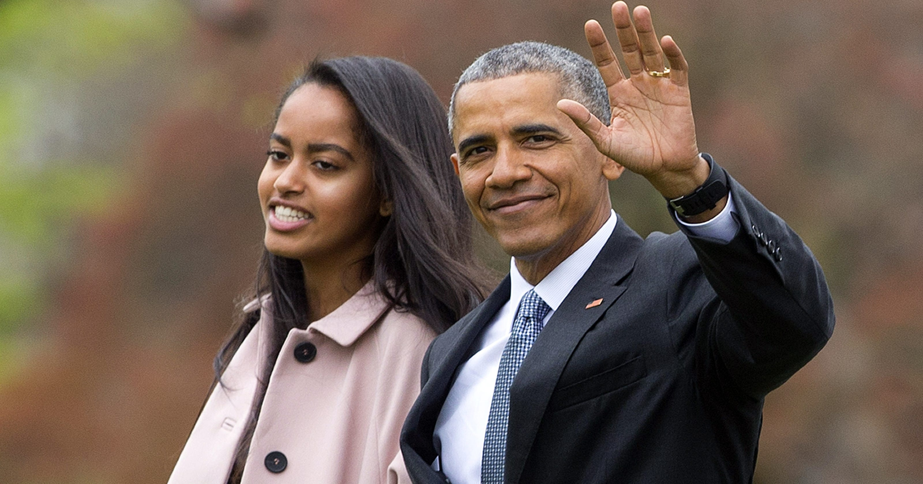 Barack Obama cried when dropping Malia Obama off at Harvard
