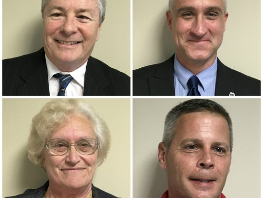 The four candidates for Sebastian City Council in 2017