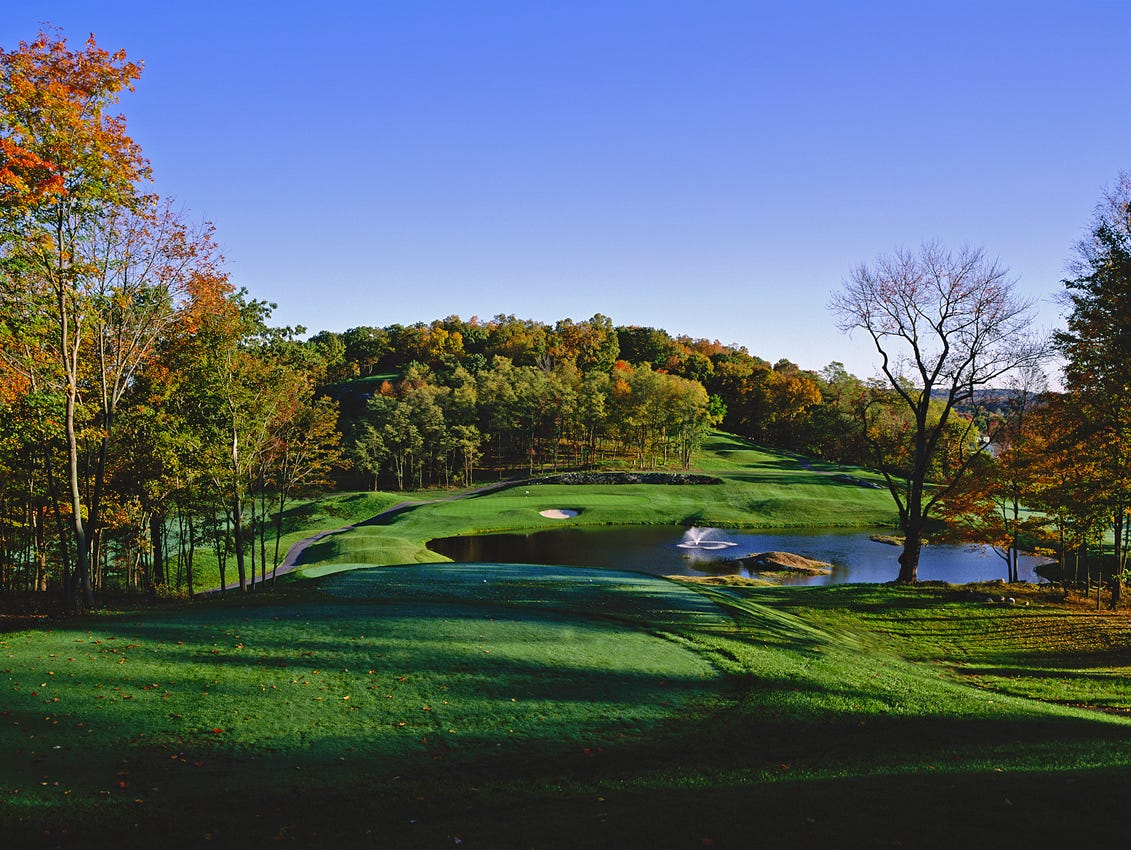 Centennial Golf Club in Carmel is a Larry Nelson design that offers plenty of variety.