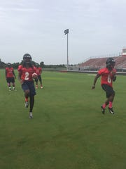 South Fort Myers football practice