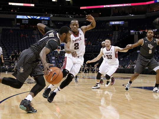 Sykes lifts UCF past Temple 94-90 in double OT