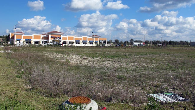 A Goodwill store is the first of 10 businesses planned in the second phase of Cameron Commons on the northeast corner of Immokalee Road and Collier Boulevard.