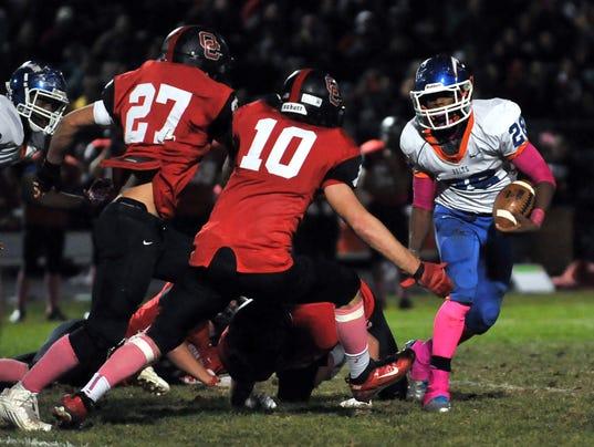 Millville football beats Ocean City