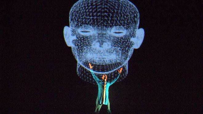 """""""Selfie"""" is a blend of dance and technology that explores the mystery of the self."""