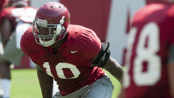 Reuben Foster, a projected top-10 pick, could see his