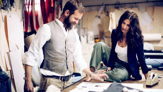 Matt and Carrie Eddmenson, husband and wife and co-creators of imogene + willie jeans store