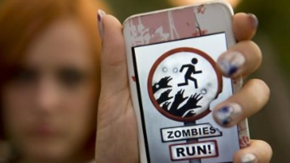 """""""Zombies, Run!"""" is an app that simulates a zombie takeover to give you extra motivation when working out."""