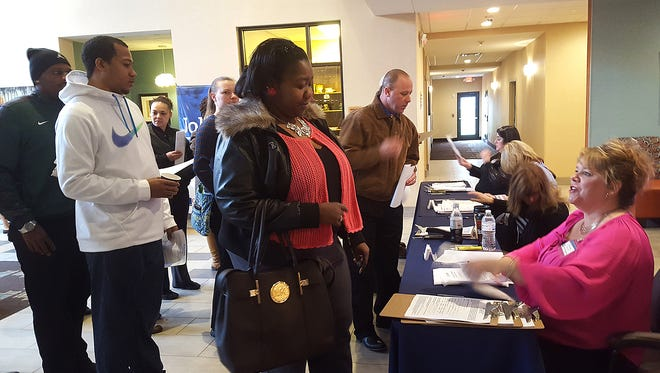 At least two dozen employers looking to fill more than 500 vacant jobs will gather at the Gallatin Civic Center for a job fair on Tuesday, Oct. 25.