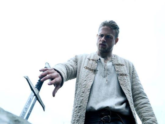 Charlie Hunnam claims Arthur's birthright in 'King