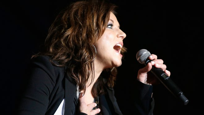 Martina McBride performs at the 4th ACM Party for a Cause Festival at the Las Vegas Festival Grounds on April 1, 2016 in Las Vegas, Nevada.