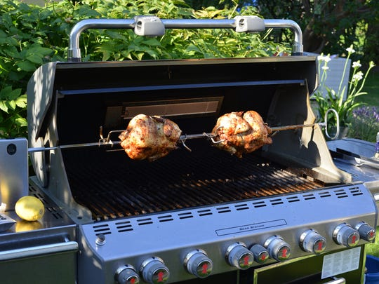 Many Weber grills offer rotisserie options. Weber also