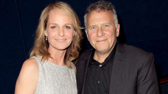 Helen Hunt and Paul Reiser pose together in 2015, years