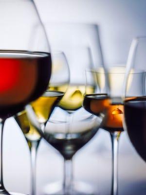 On wine